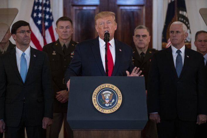 EEUU e Irán retroceden del borde de una posible guerra