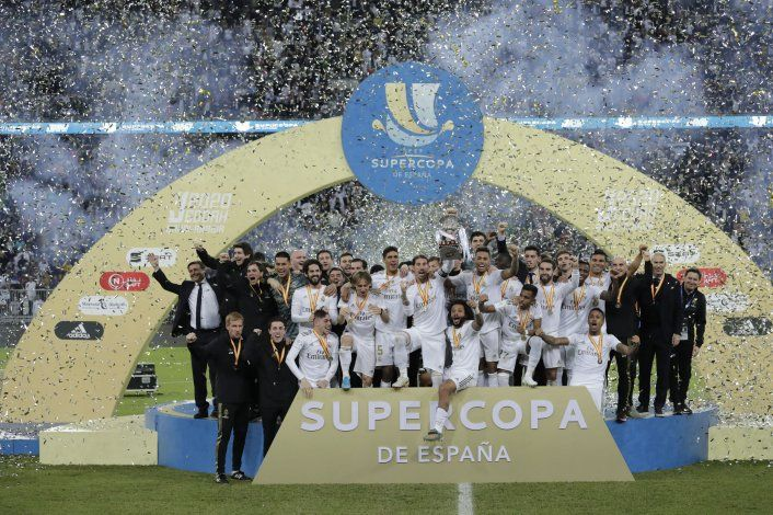 Real Madrid gana la Supercopa en penales ante el Atlético