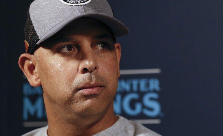 Manager y gerente de Astros, despedidos por robo de señales