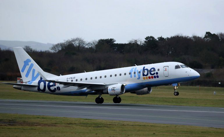 Gran Bretaña considera rescatar a aerolínea regional Flybe