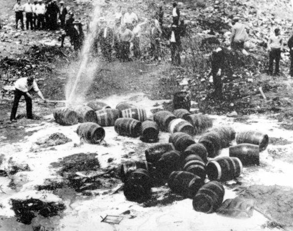 A 100 años de la ley seca abunda el alcohol en EEUU