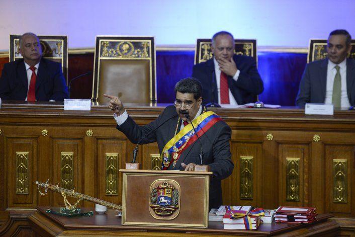 Venezuela: Maduro dice que EEUU fracasó en sus planes