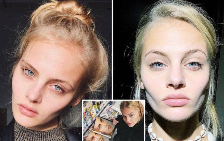 La modelo rusa Ksenia Puntus lucha por su vida tras caer desnuda desde una ventana de un tercer piso