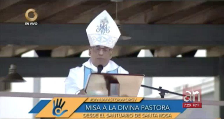 Monseñor critica a diputados que se alinearon con el régimen de Nicolas Maduro