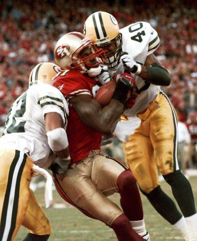 Rivalidad Packers-49ers se remonta a 25 años