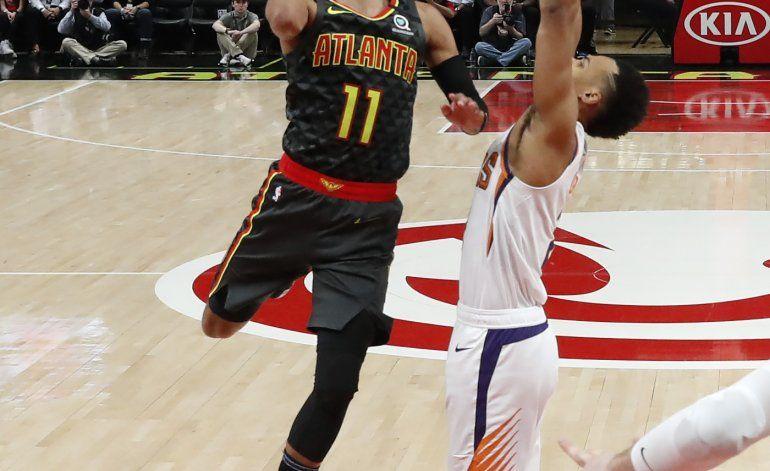 Young y Huerter llevan a Hawks a triunfo sobre Suns