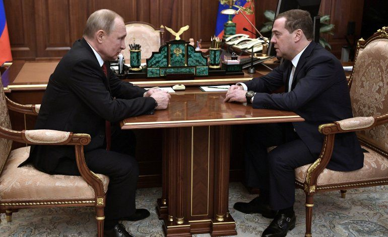 Putin anuncia cambios radicales en el gobierno