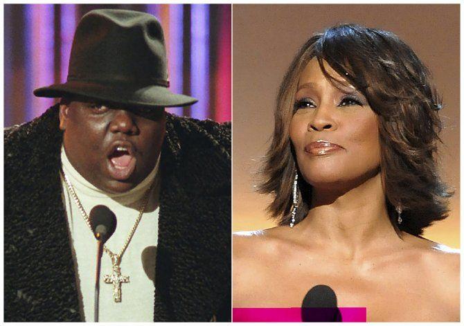 Whitney Houston y Notorious B.I.G. al Salón de la Fama