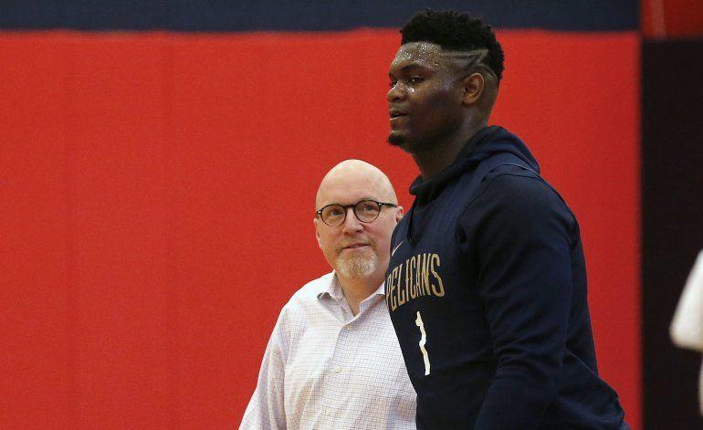 Williamson debutará el 22 de enero con los Pelicans