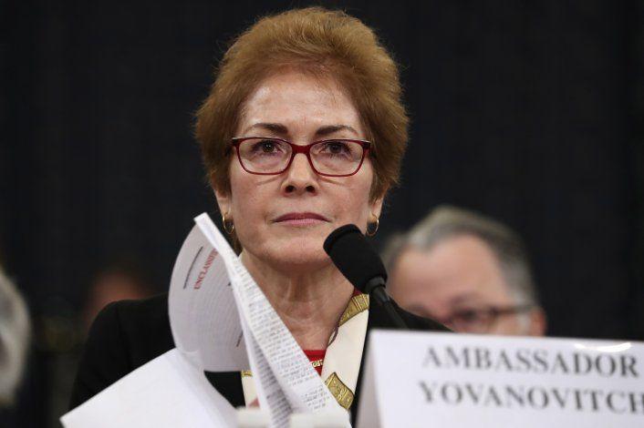 Ucrania investiga espionaje a embajadora de EEUU
