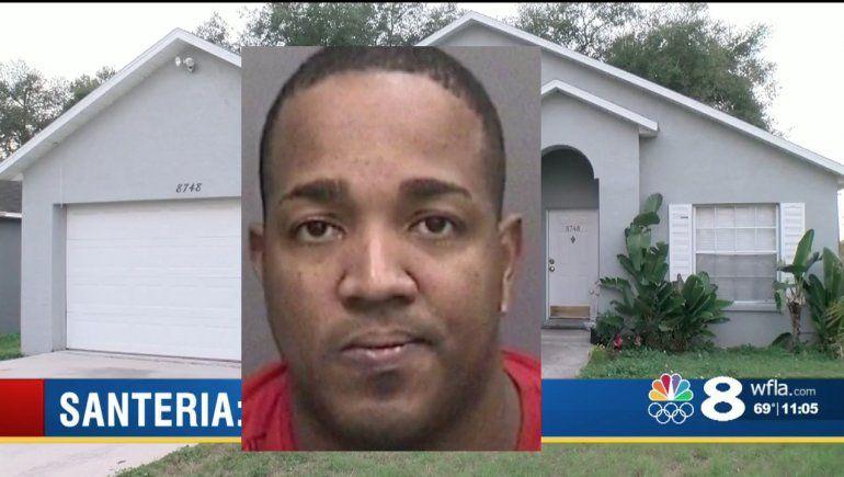 Arrestan a un cubano de Tampa por quemar a un adolescente de 14 años en una ceremonia de Santería