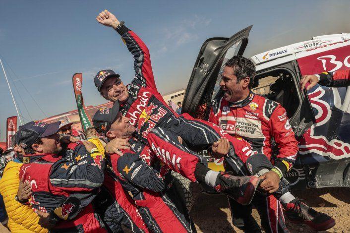 Sainz gana su 3er Rally Dakar y Brabec se corona en motos