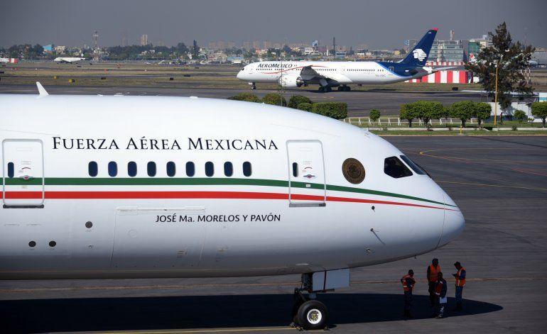 Presidente de México sopesa rifar el avión presidencial