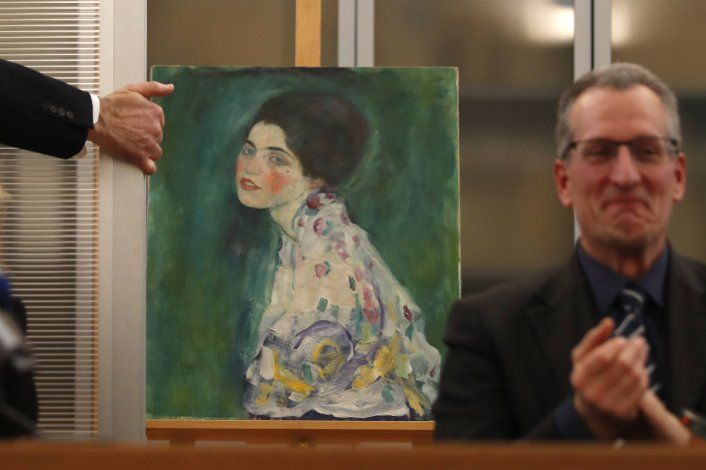 Expertos: Obra escondida en museo italiano es de Klimt