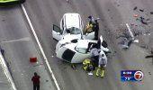 Cerrada en ambos sentidos la autopista Don Shula Expressway por accidente de tráfico que dejó un muerto