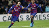 Gracias a Messi, la era Setién en Barça inicia con victoria