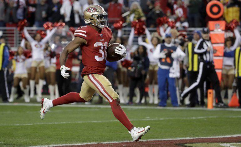Mostert conduce a los 49ers al Super Bowl