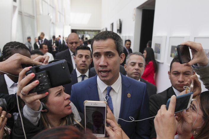 Guaidó busca reunión con Trump a final de gira internacional