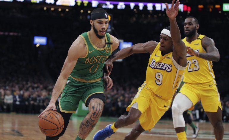 Kemba derrota por 1ra vez a LeBron; Celtics vencen a Lakers