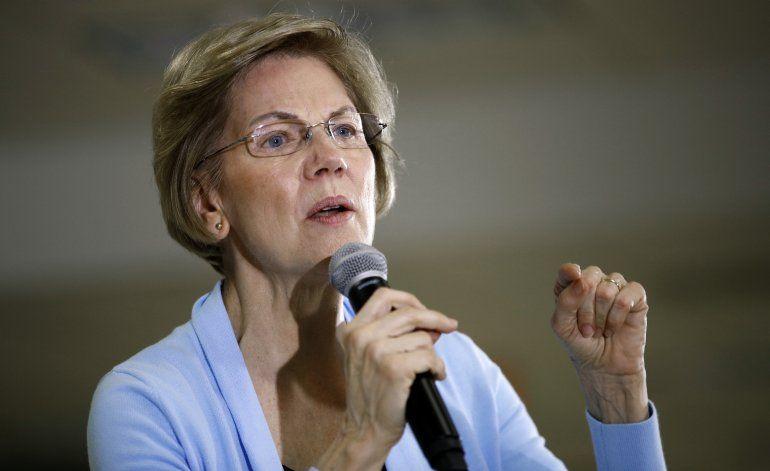 Warren quiere investigar al gobierno de Trump
