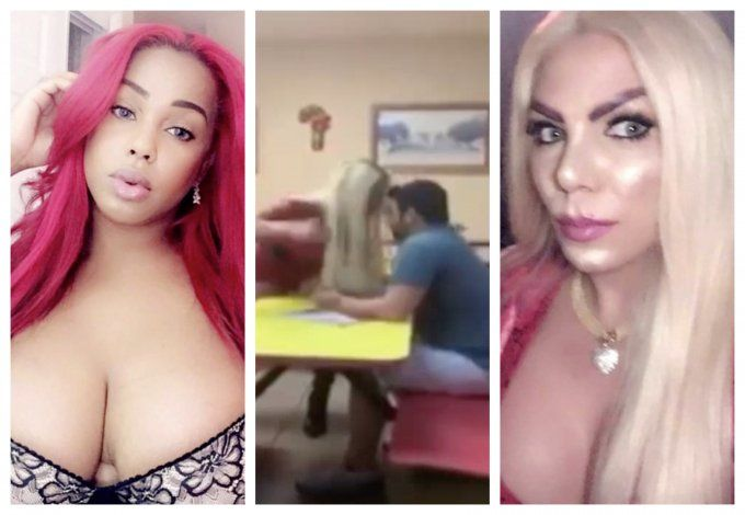 Transgéneros le dan paliza a dos hombres que los acosaban en pizzeria de Hialeah