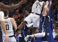 leonard y clippers superan a mavs, que pierden a powell