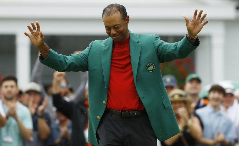 Las expectativas son mayores para Tiger Woods al envejecer