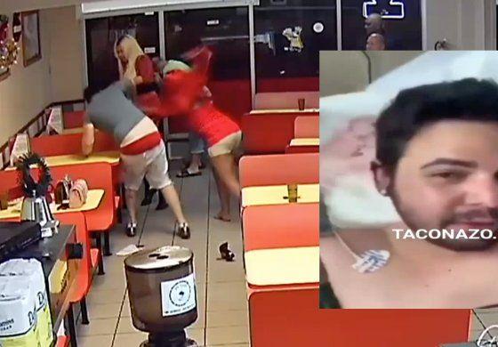 Salen a la luz nuevas imágenes de brutal pelea entre dos hombre y dos transexuales