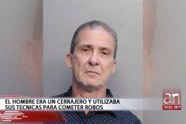 capturan a cubano de miami que usando conocimientos de cerrajeria robo en varias casas