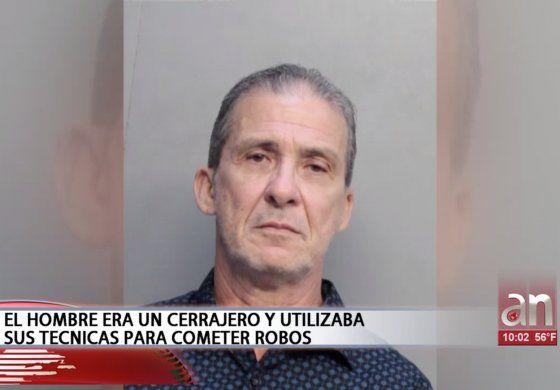 Capturan a cubano de Miami que usando conocimientos de cerrajería robo en varias casas