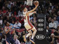 con 25 puntos de herro, heat supera a wizards