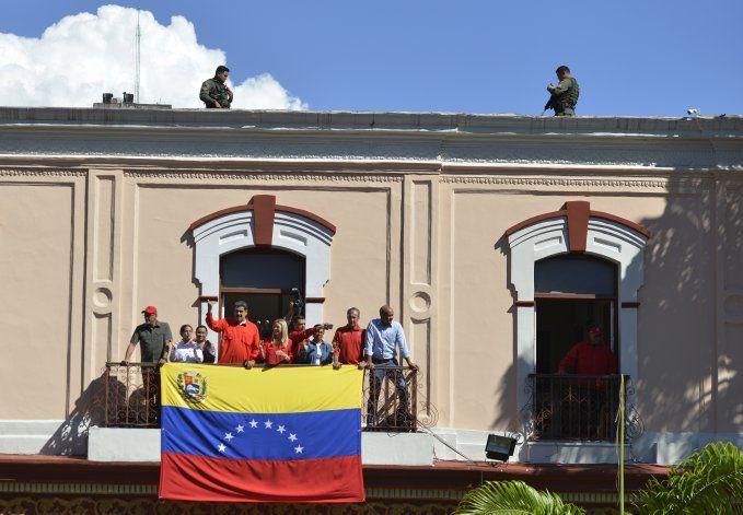Maduro afirma que Guaidó fracasó