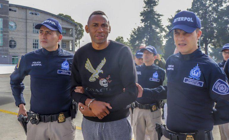 Viáfara es extraditado a EEUU por caso de narcotráfico