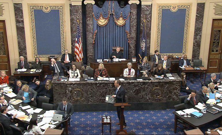"""Demócratas: """"Lo correcto importa"""" en juicio político"""