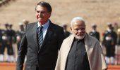 India y Brasil pactan lazos en biocombustibles y otras áreas