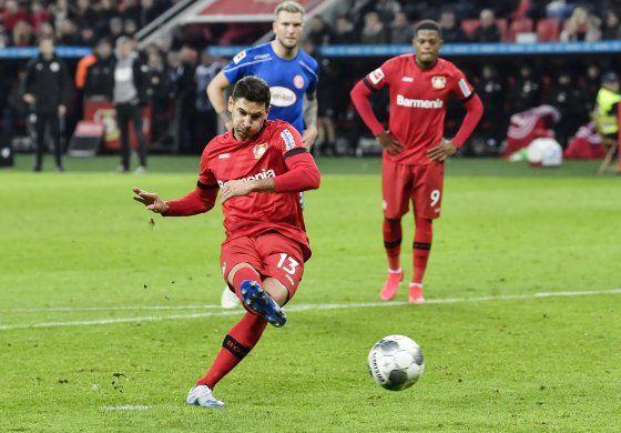 Leverkusen golea y ya es 5to de Bundesliga; cae Bremen