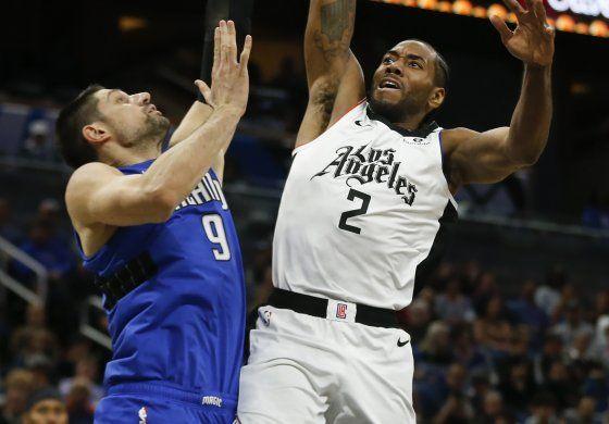 Leonard lleva a los Clippers al triunfo ante el Magic