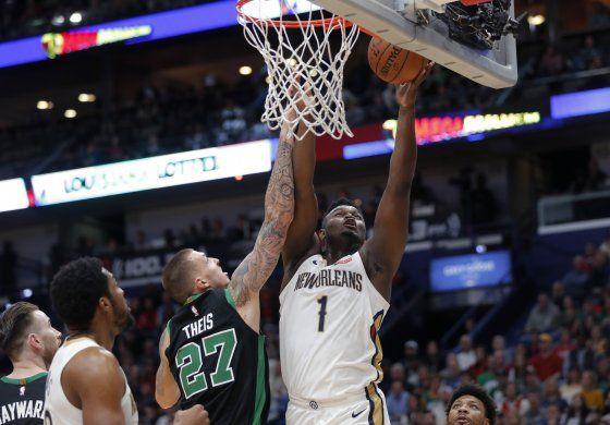 Williamson logra su 1er triunfo con los Pelicans