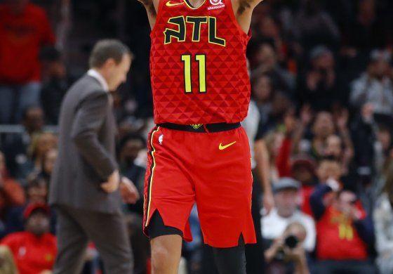 Con 45 puntos de Young, Hawks superan a Wizards