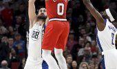 Lillard brilla con 50 puntos; Blazers doblegan a Pacers