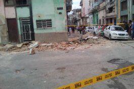 mueren tres ninas tras derrumbe de balcon en la habana vieja