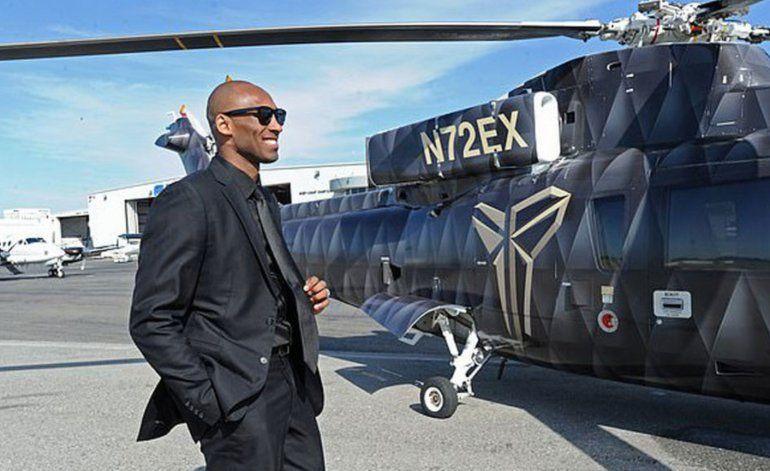 Helicóptero de Koby Bryant habría estado en el aire durante 39 minutos antes de estrellarse