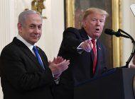 trump presenta plan de paz para el medio oriente