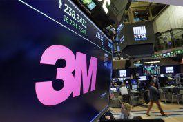 en plena caida del sector manufacturero, 3m recorta empleos