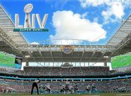ya todo esta listo para super bowl 54, a celebrarse este domingo en el hard rock stadium