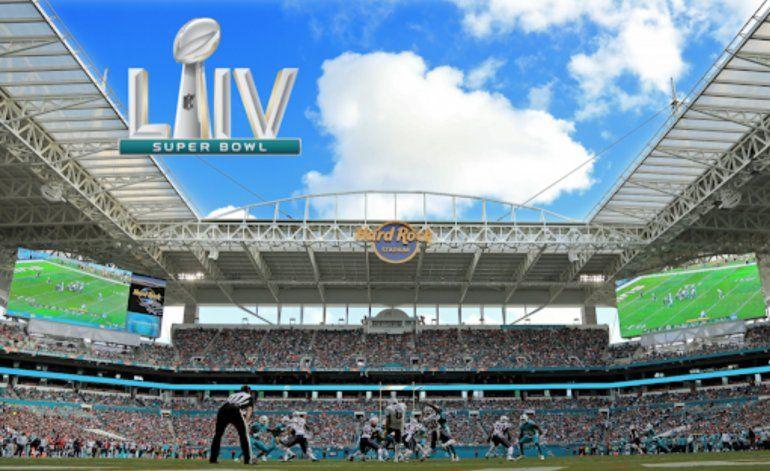 Ya todo está listo para Super Bowl 54, a celebrarse este domingo en el Hard Rock Stadium