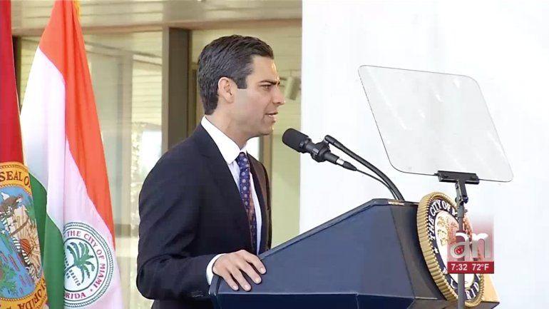 Alcalde de Miami rindió el informe anual del Estado de la Ciudad