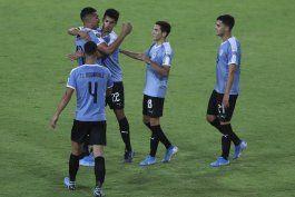 uruguay vence a peru y mantiene esperanzas en preolimpico