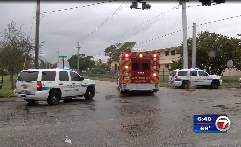 Policía: 2 muertos, 2 heridos en tiroteo después de un funeral en Riviera Beach, West Palm Beach