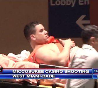2 hombres fueron hospitalizados después de tiroteo en Miccosukee Resort & Gaming